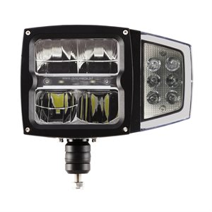 Heated Lens LED Snow plow light